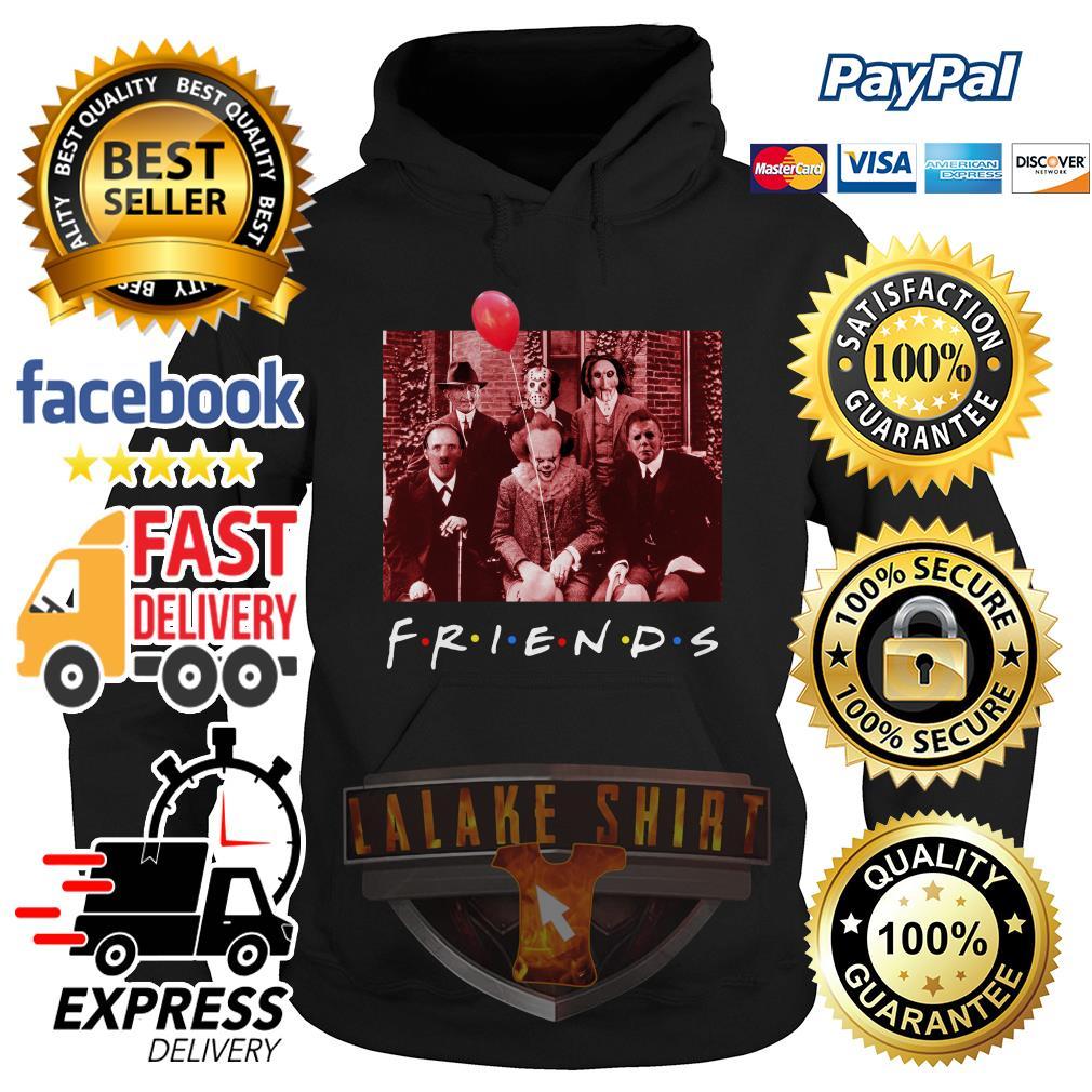 Friend TV show Horror character hoodie