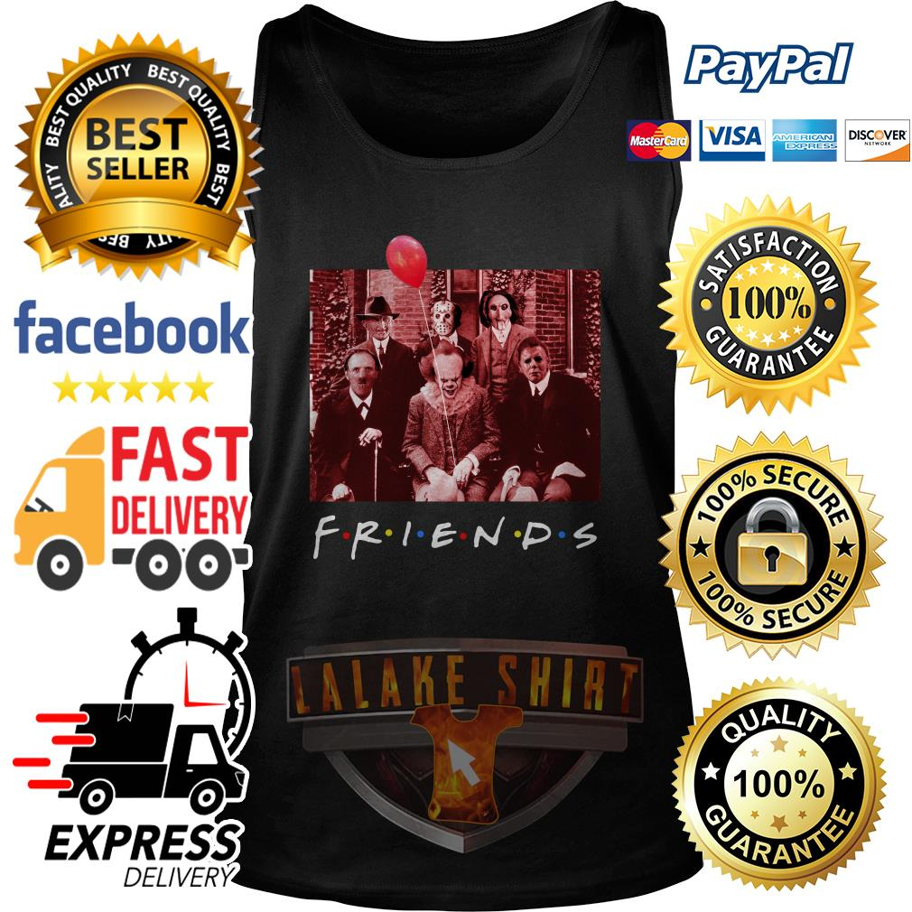 Friend TV show Horror character tank top