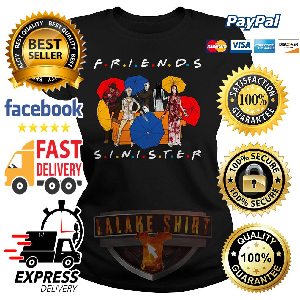 Friends TV Show Friends sinister ladies tee