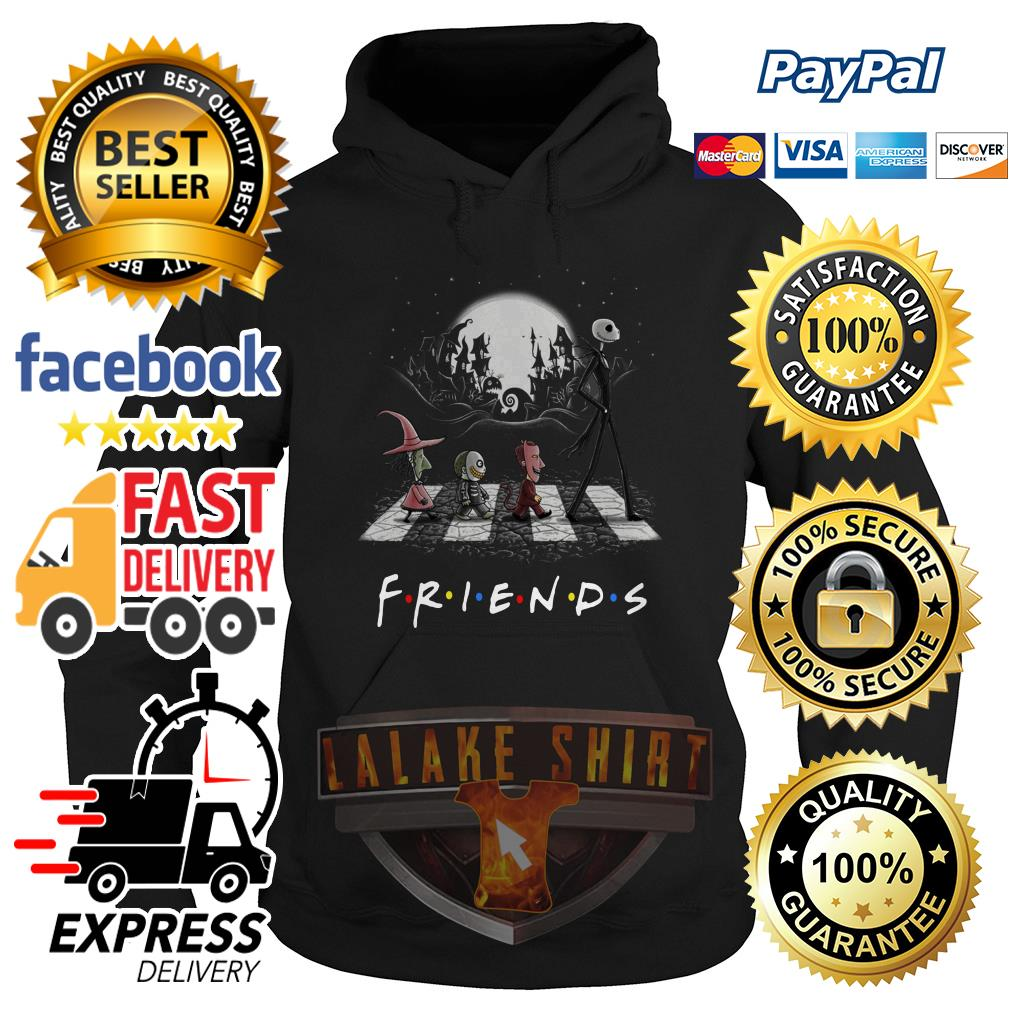 Friends TV show The Nightmare Before Christmas Abbey Road Halloween hoodie