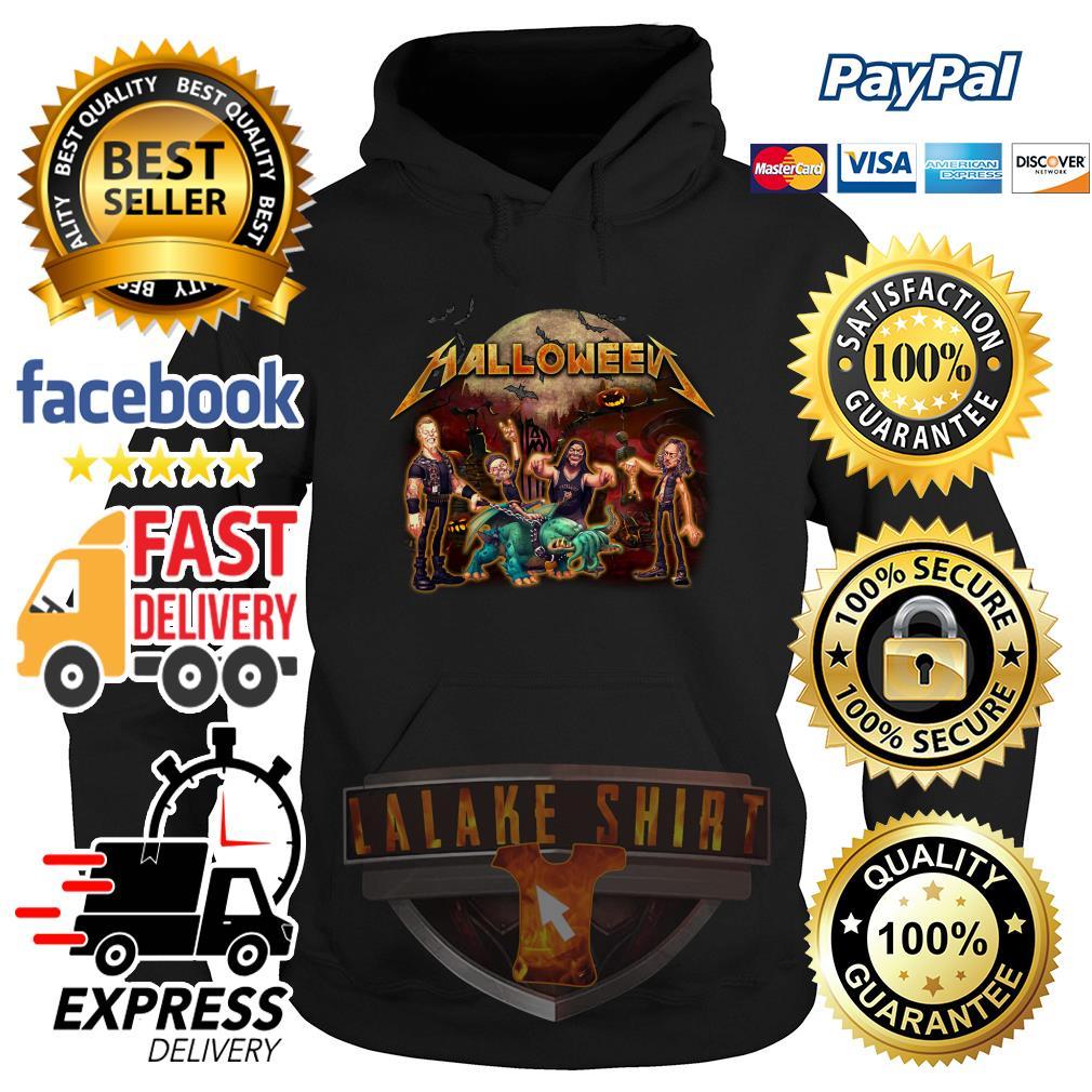 Halloween Metallica style hoodie