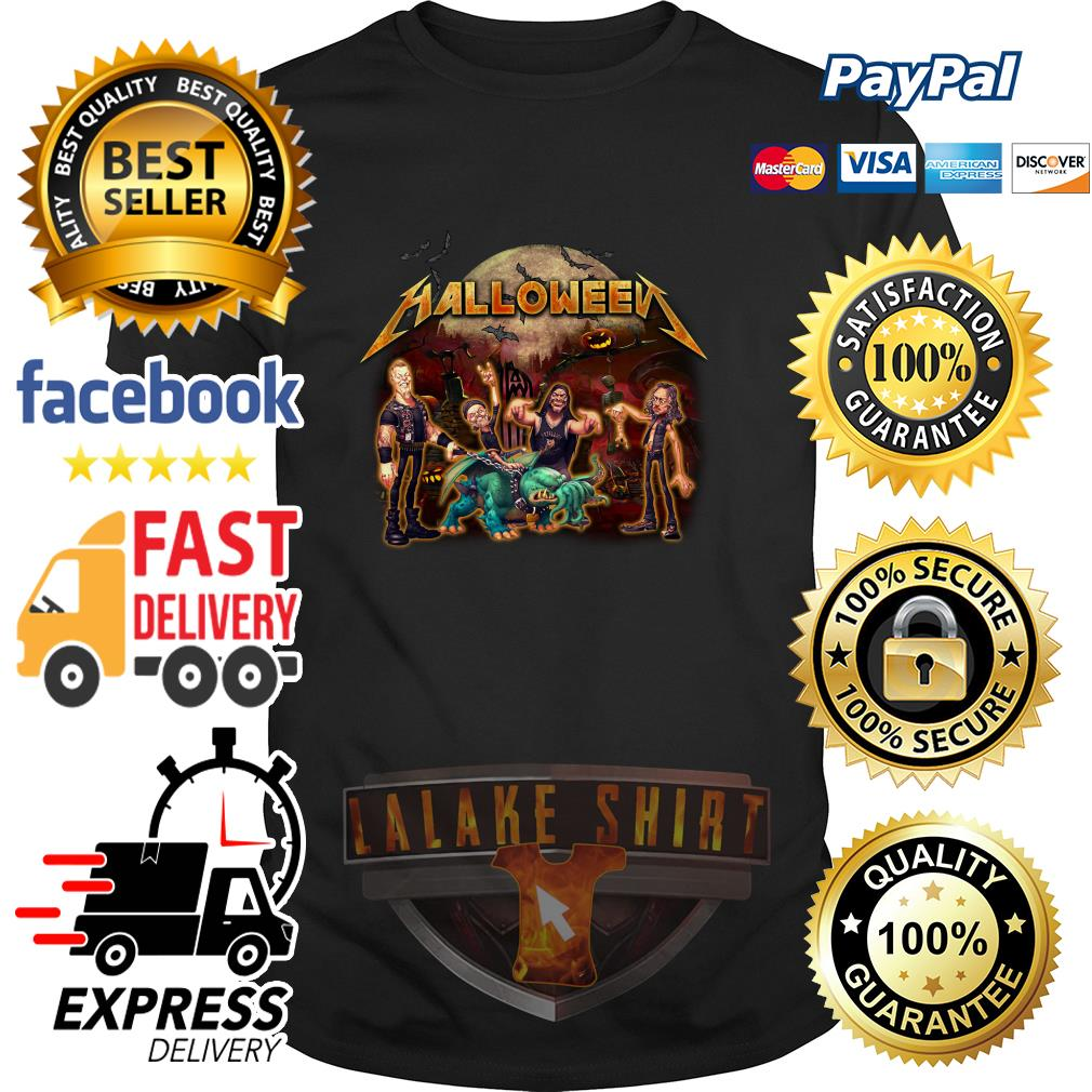 Halloween Metallica style shirt