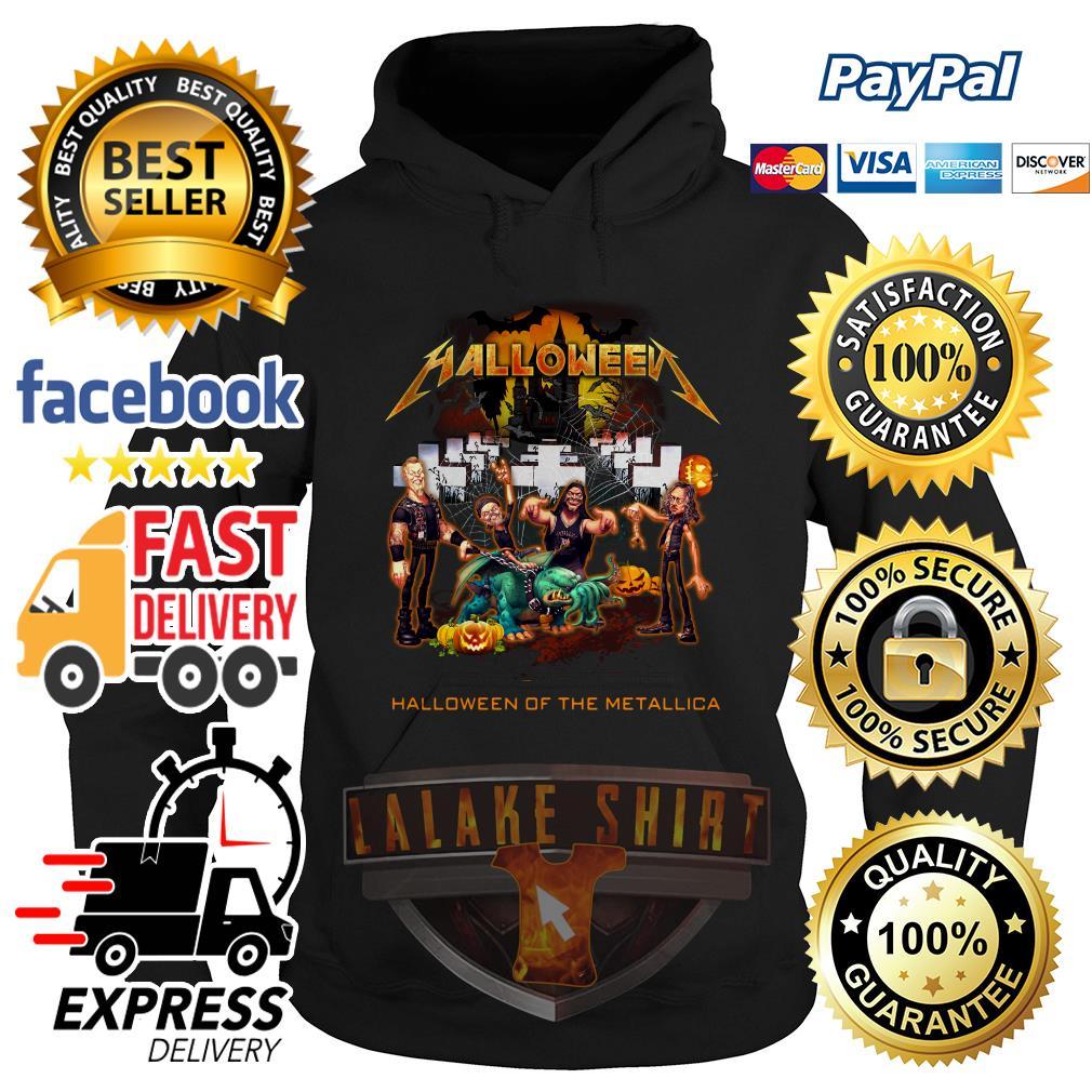 Halloween of the Metallica hoodie