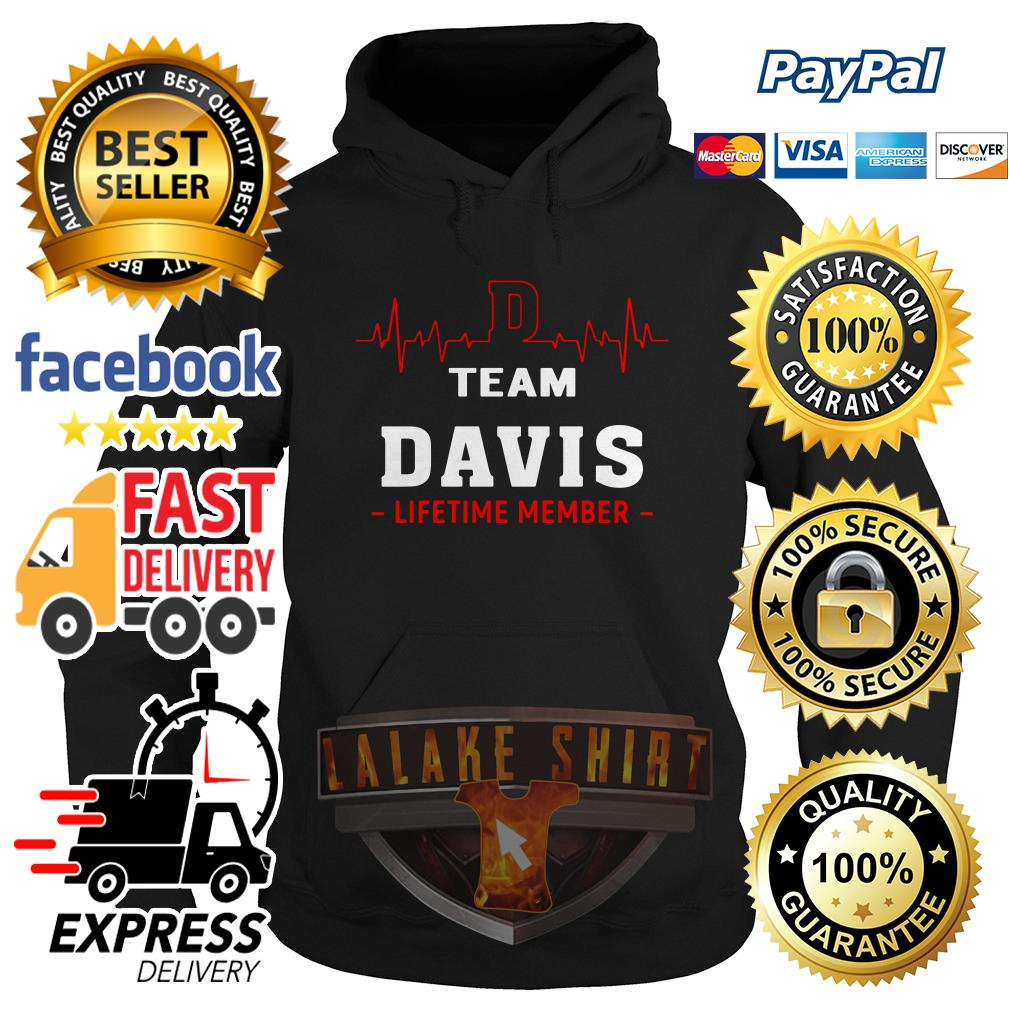 Heartbeat team Davis lifetime member hoodie