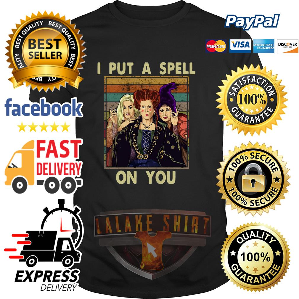 Hocus Pocus I put a spell on you vintage shirt
