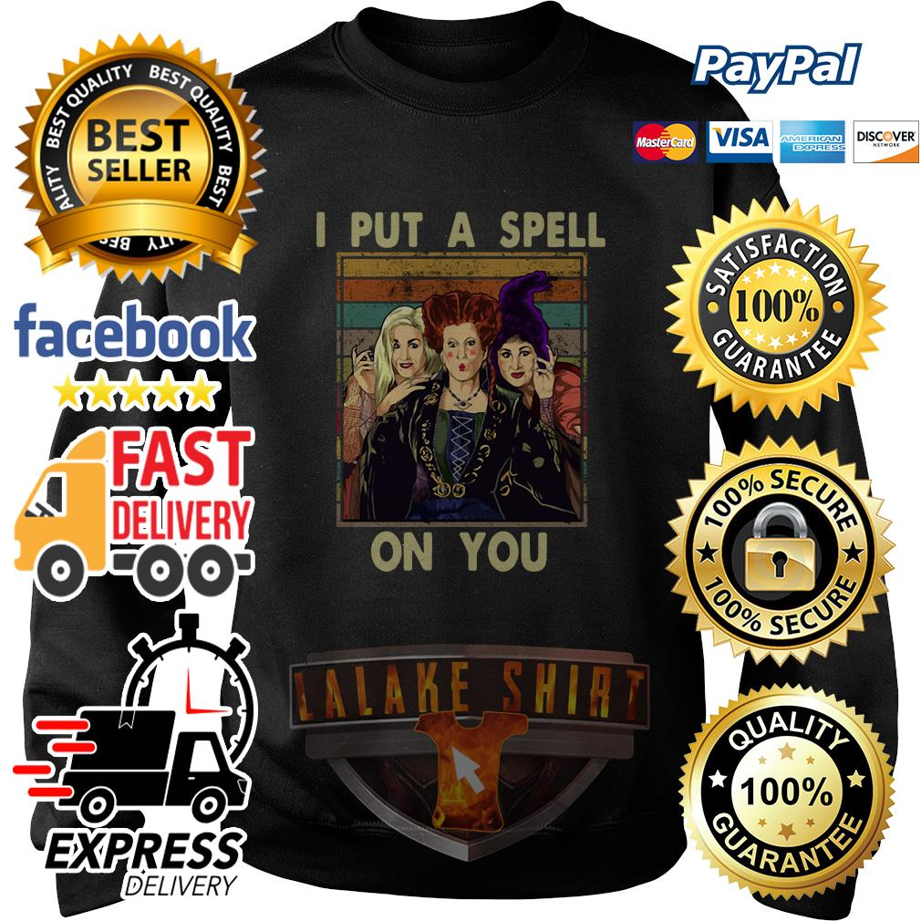 Hocus Pocus I put a spell on you vintage sweater