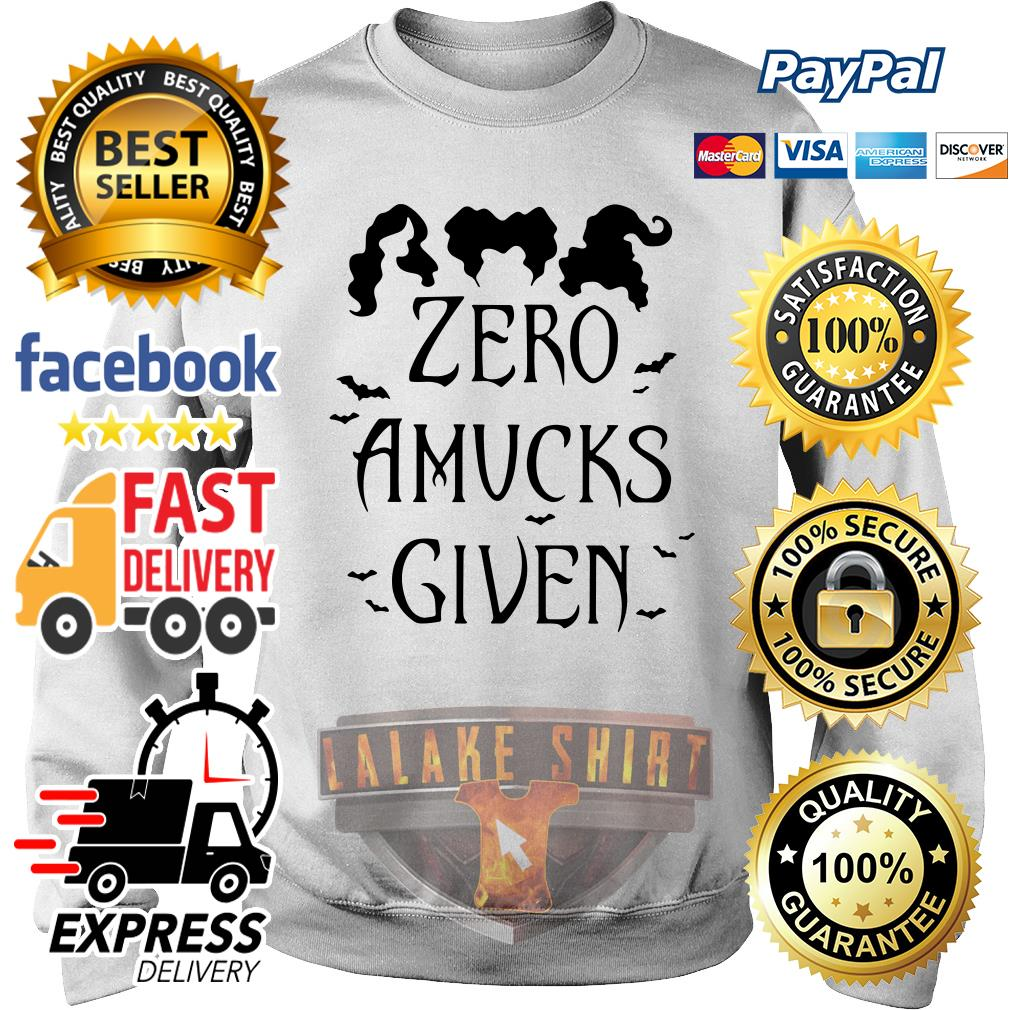 Hocus Pocus Zero amucks given sweater