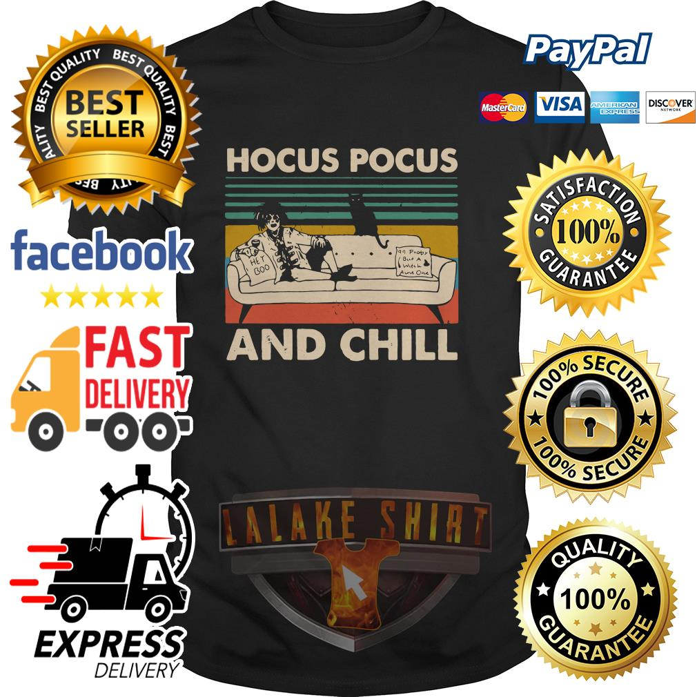 Hocus Pocus and chill vintage shirt