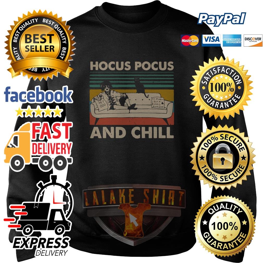 Hocus Pocus and chill vintage sweater