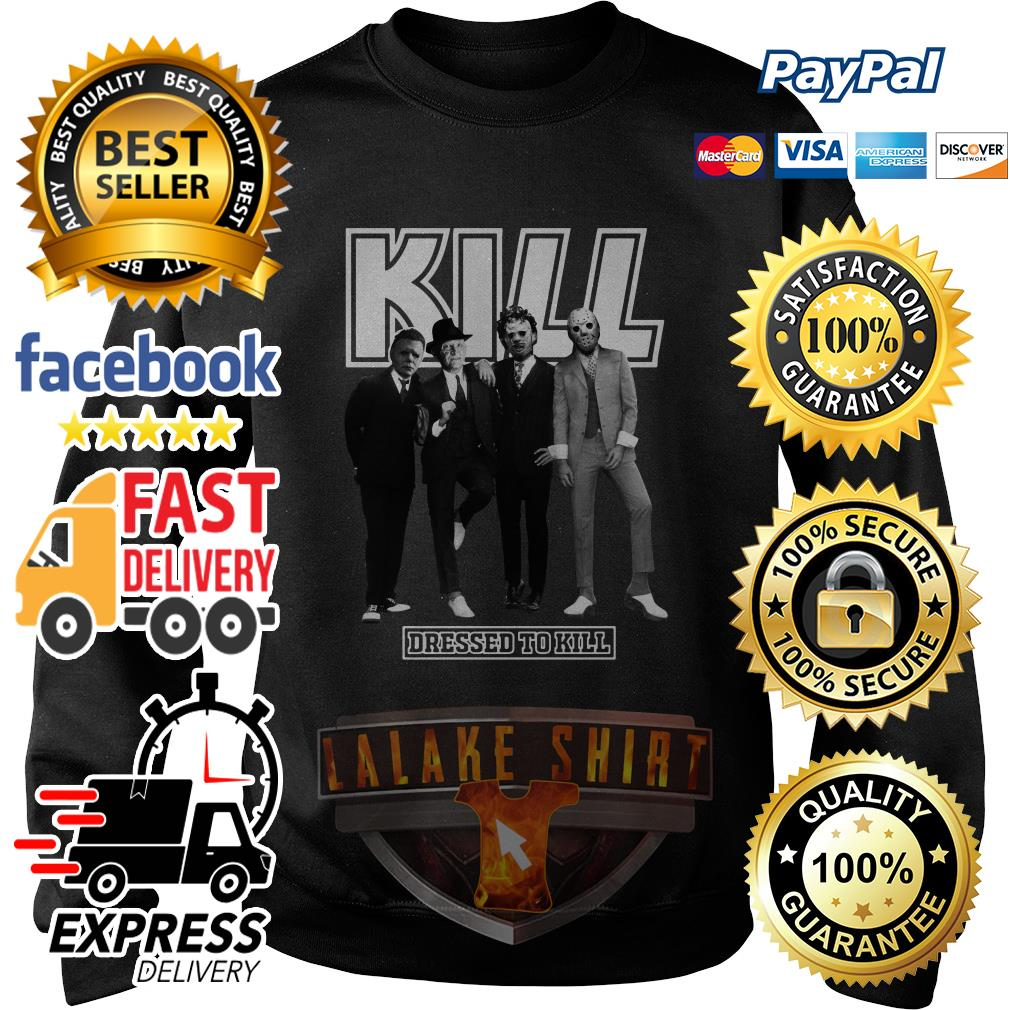 Horror character movie Kill dressed to kill sweater
