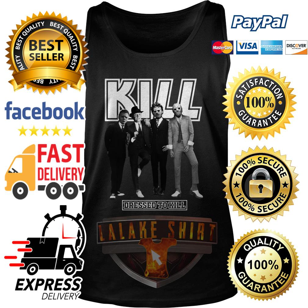 Horror character movie Kill dressed to kill tank top