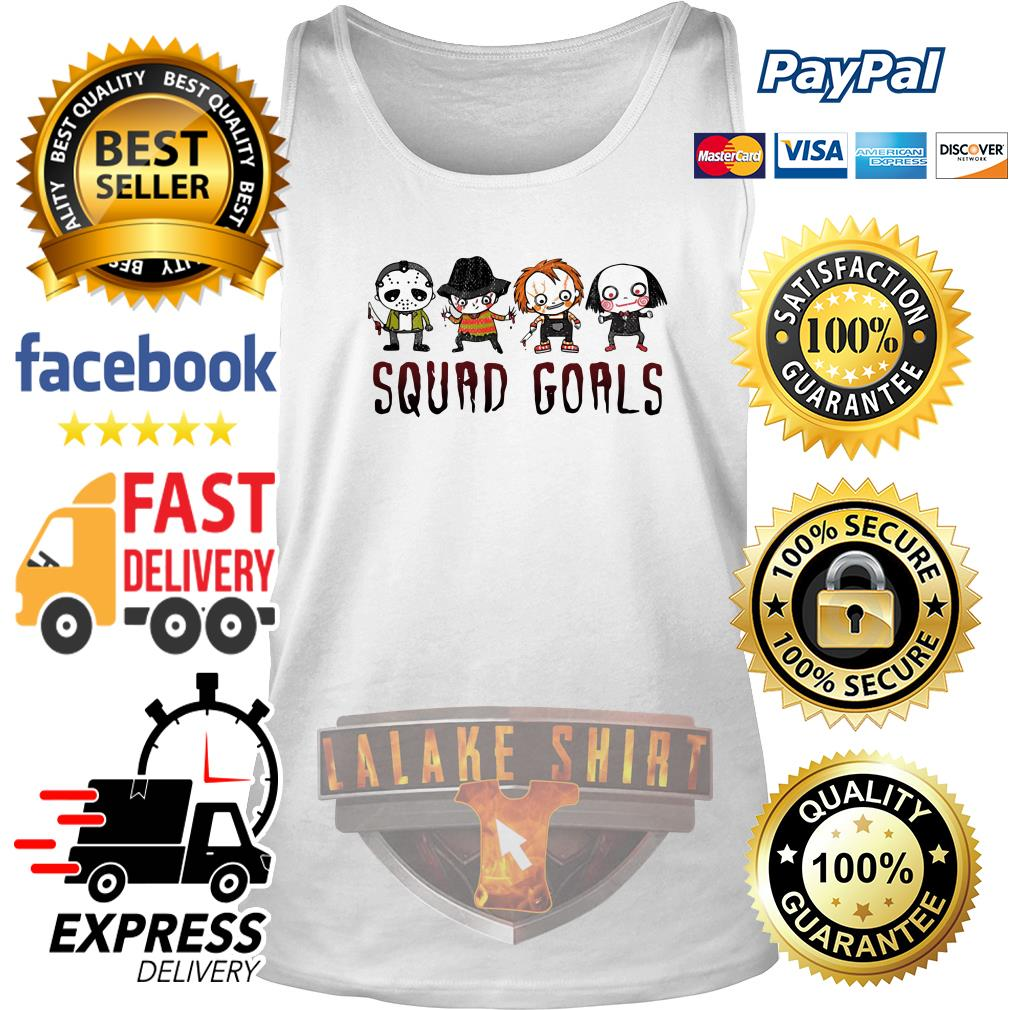 Horror character movie squad goals tank top