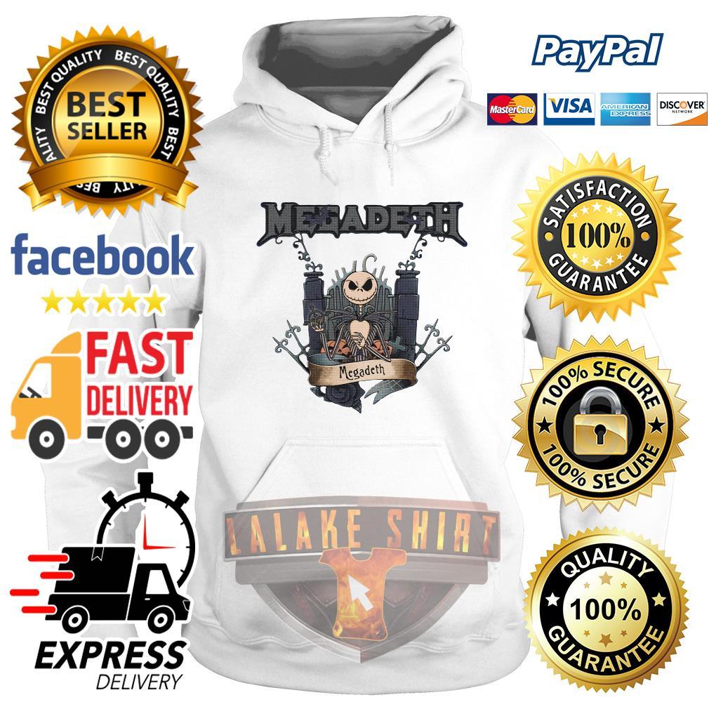 Jack Skellington Megadeth Halloween hoodie