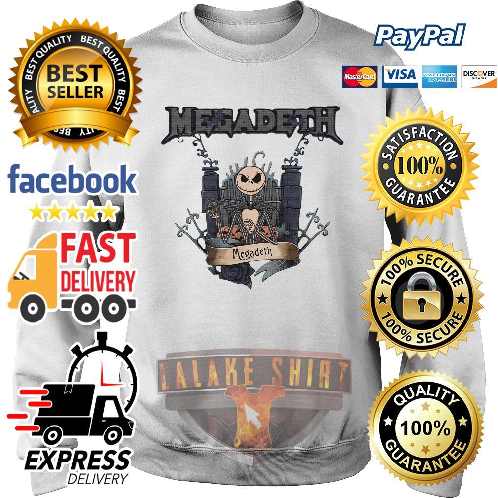 Jack Skellington Megadeth Halloween sweater