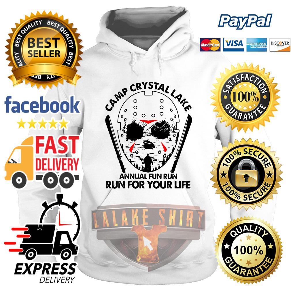 Jason Voorhees Camp crystal lake annual fun run run for your life hoodie