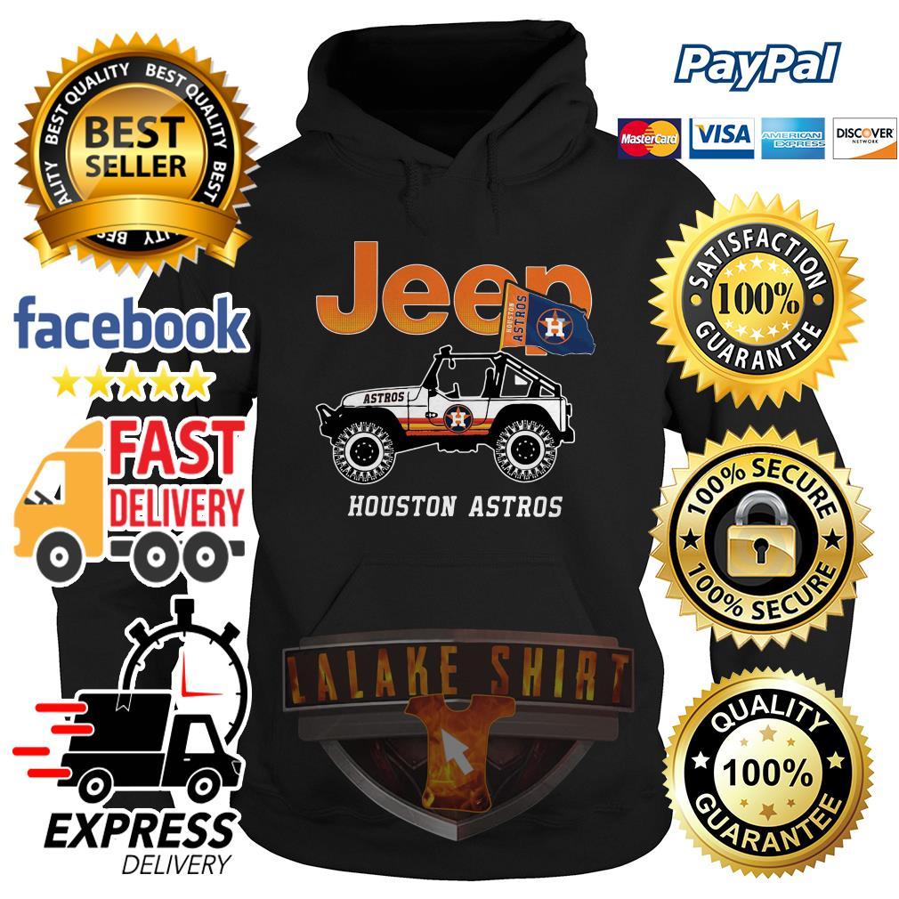 Jeep Houston Astros hoodie