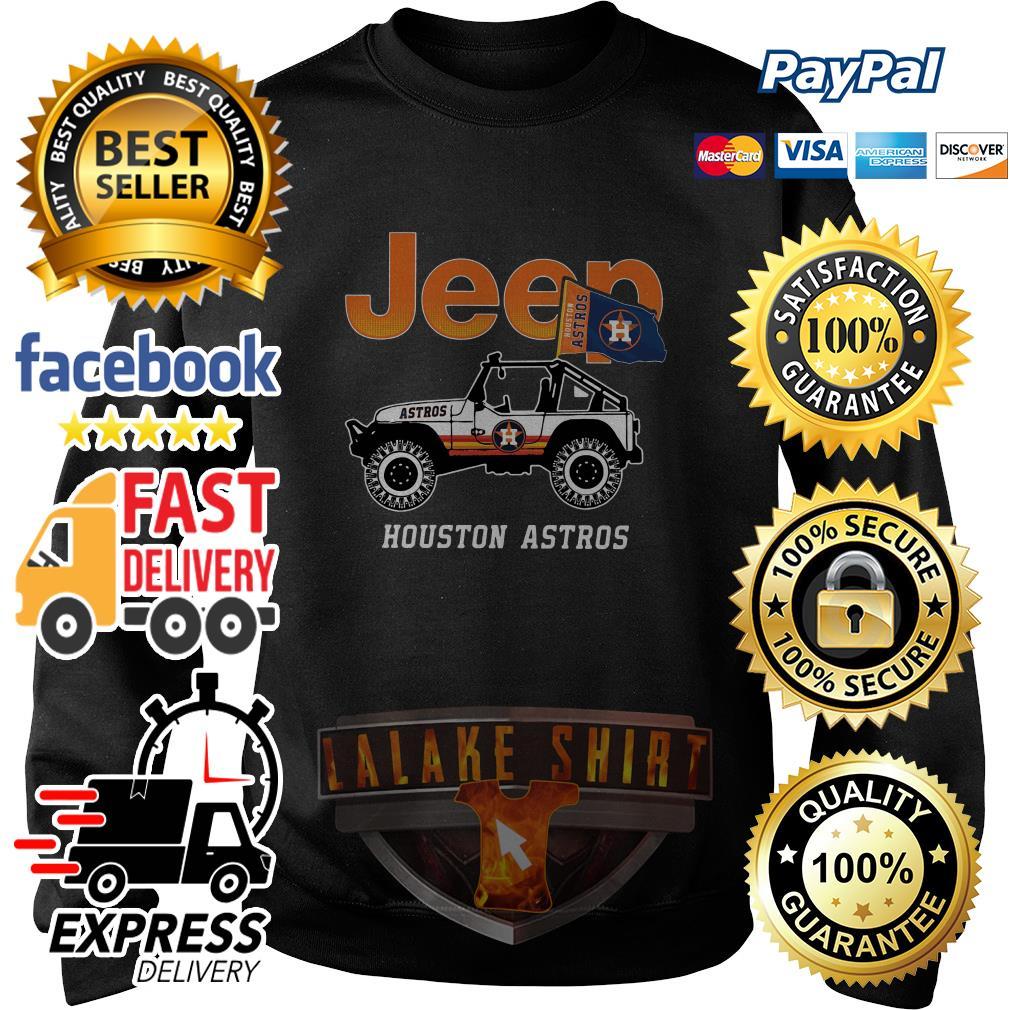 Jeep Houston Astros sweater