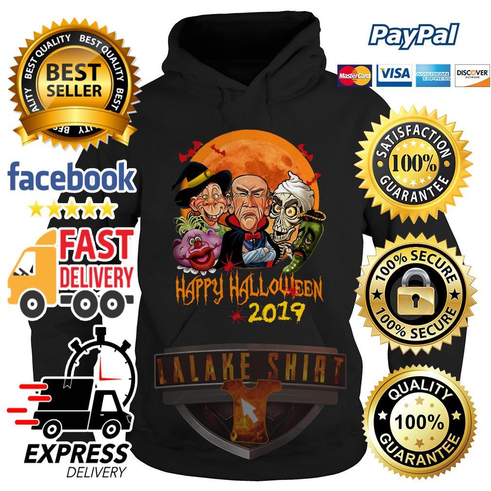 Jeff Dunham characters Happy halloween 2019 hoodie