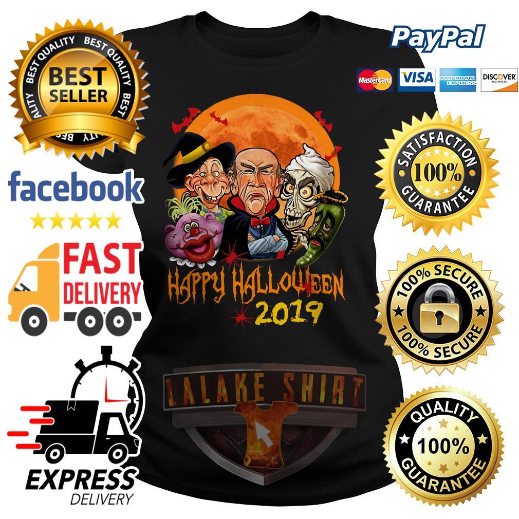 Jeff Dunham characters Happy halloween 2019 ladies tee