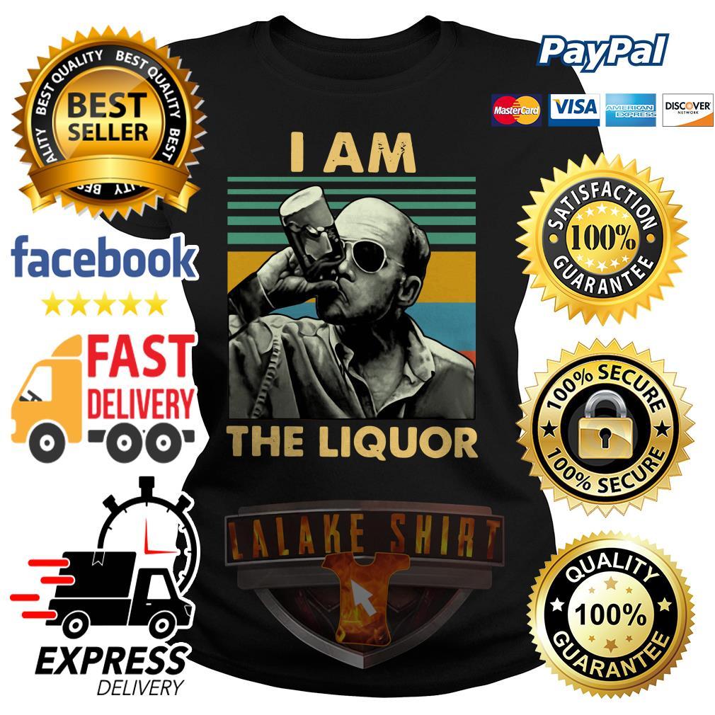 Jim Lahey I am the liquor vintage ladies tee