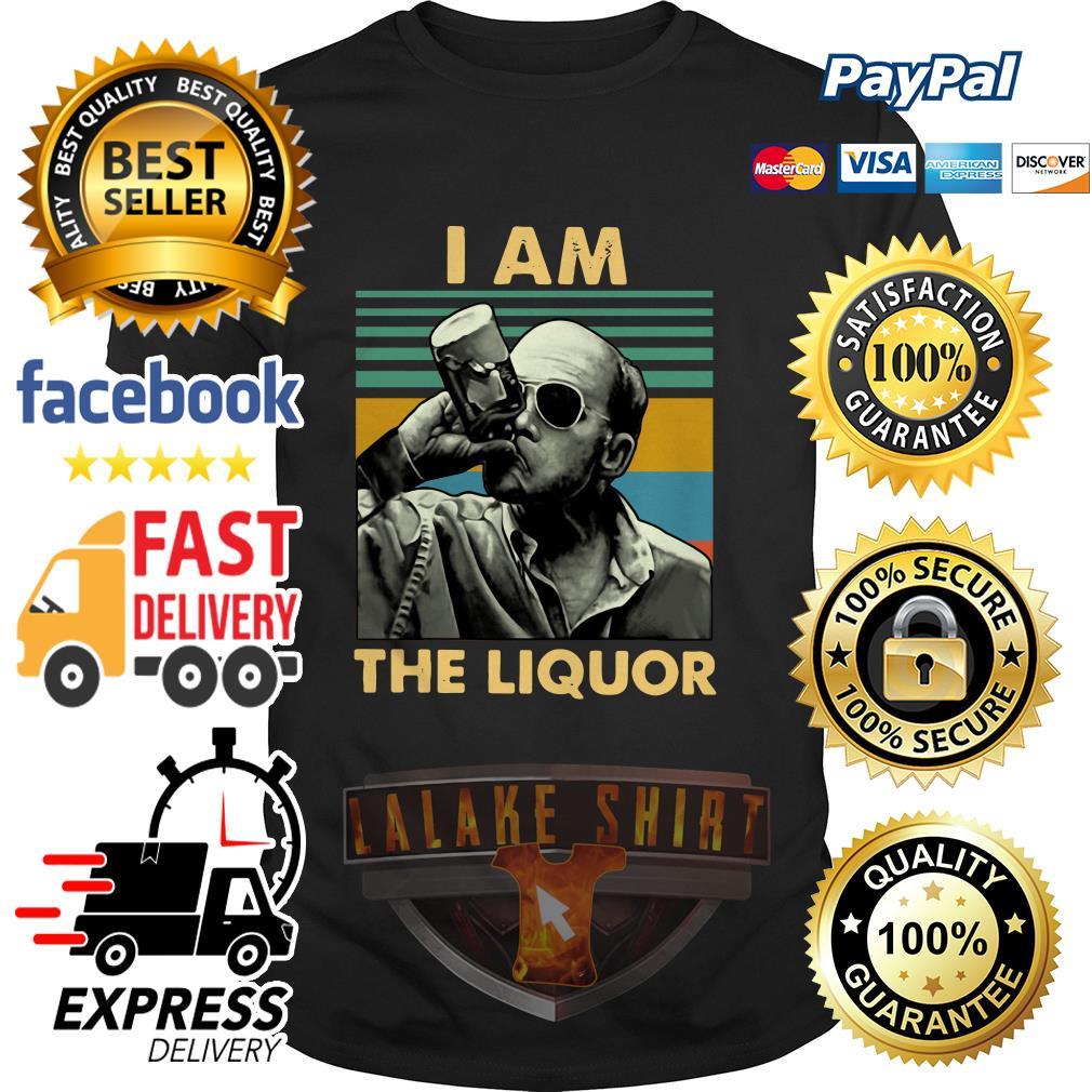 Jim Lahey I am the liquor vintage shirt