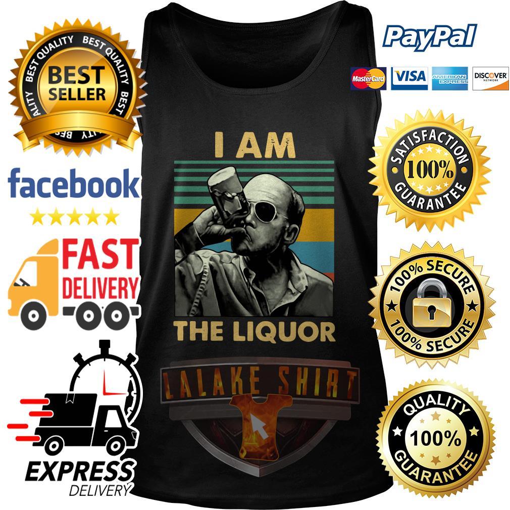 Jim Lahey I am the liquor vintage tank top