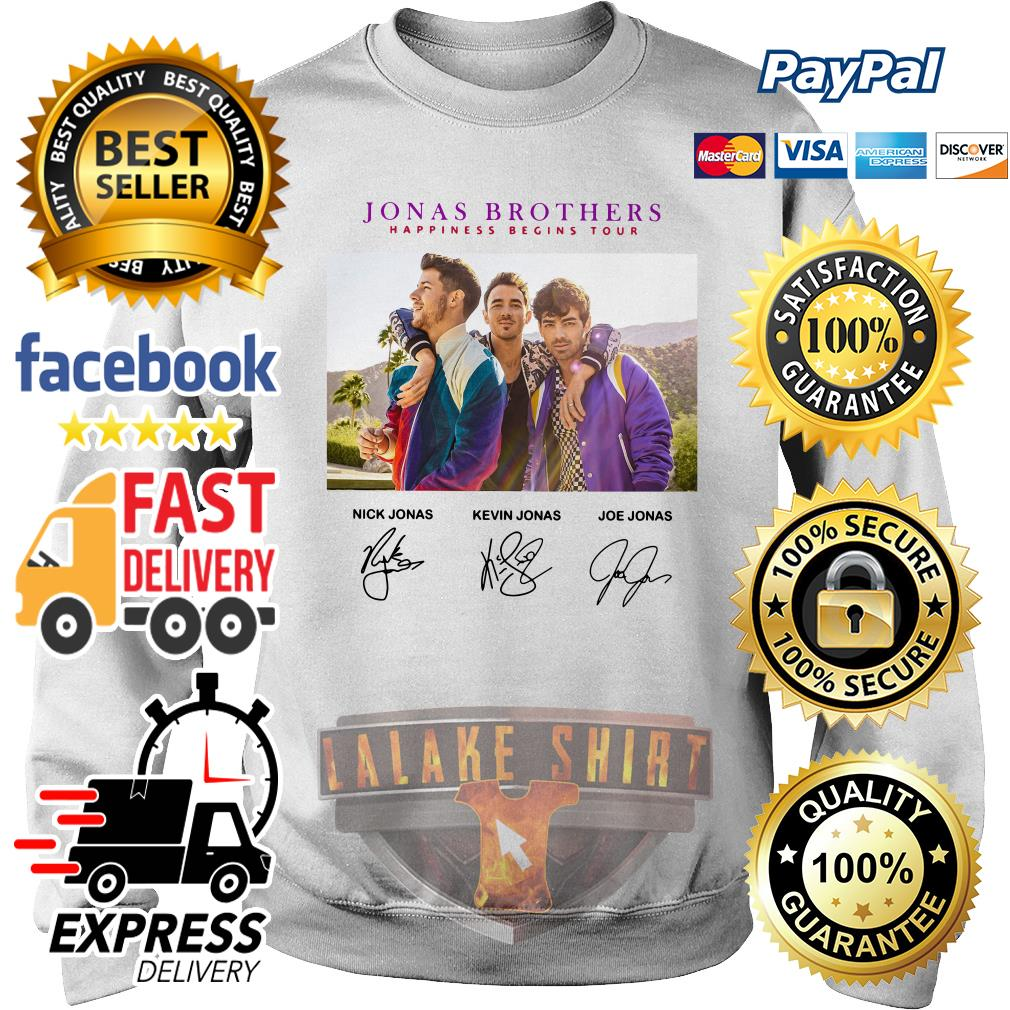 Jonas brothers happiness begins tour signature sweater