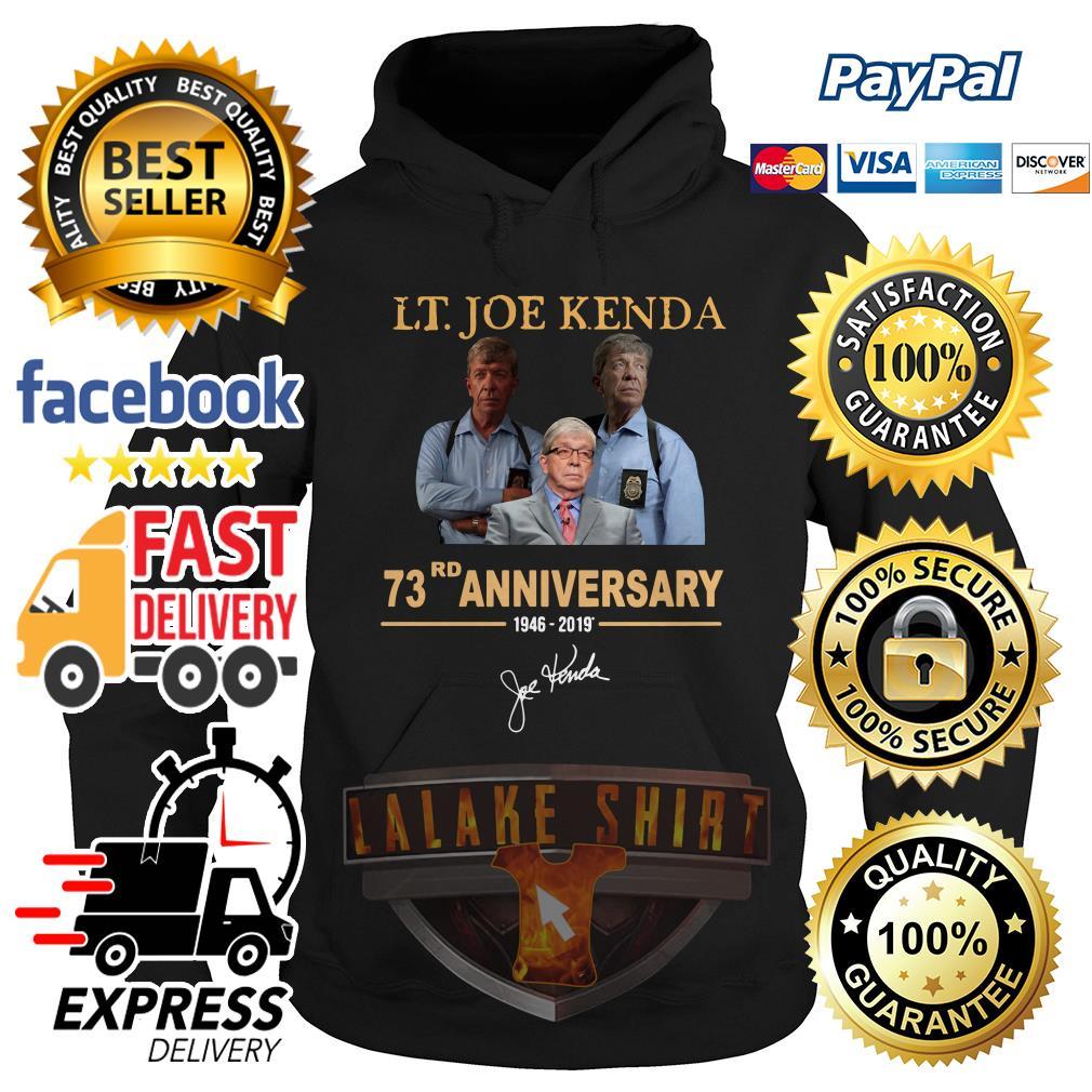 LT Joe Kenda 73rd Anniversary hoodie