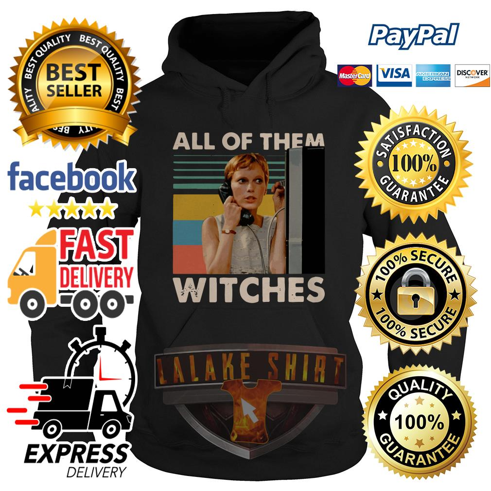 Mia Farrow in Rosemary's Baby all of them witches vintage hoodie