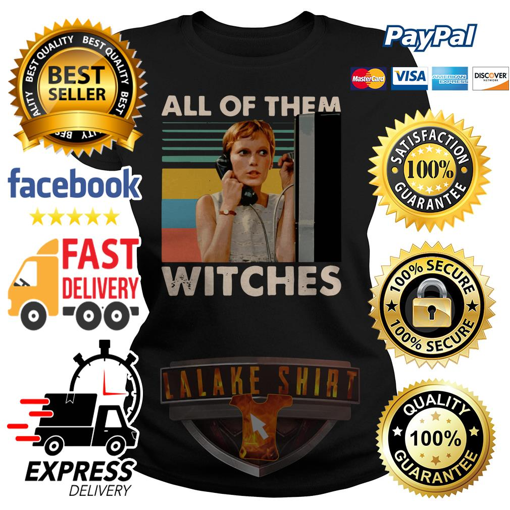 Mia Farrow in Rosemary's Baby all of them witches vintage ladies tee