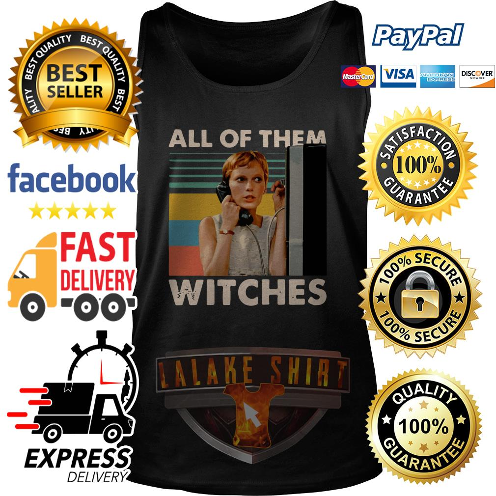 Mia Farrow in Rosemary's Baby all of them witches vintage tank top
