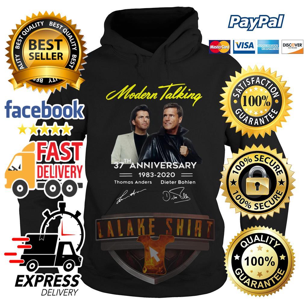 Modern talking 37th anniversary 1983 2020 hoodie