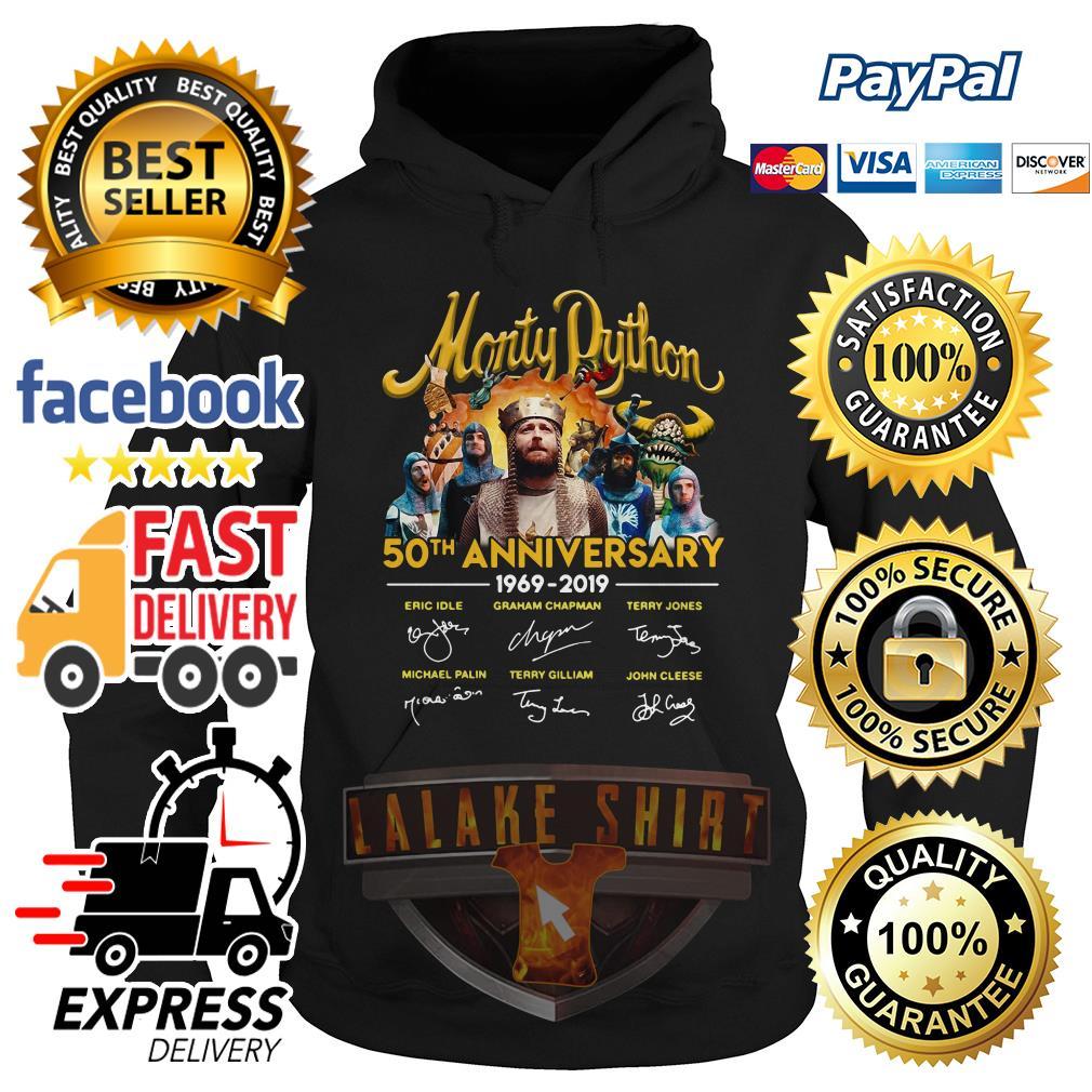 Monty Python 50th anniversary 1969 2019 signature hoodie
