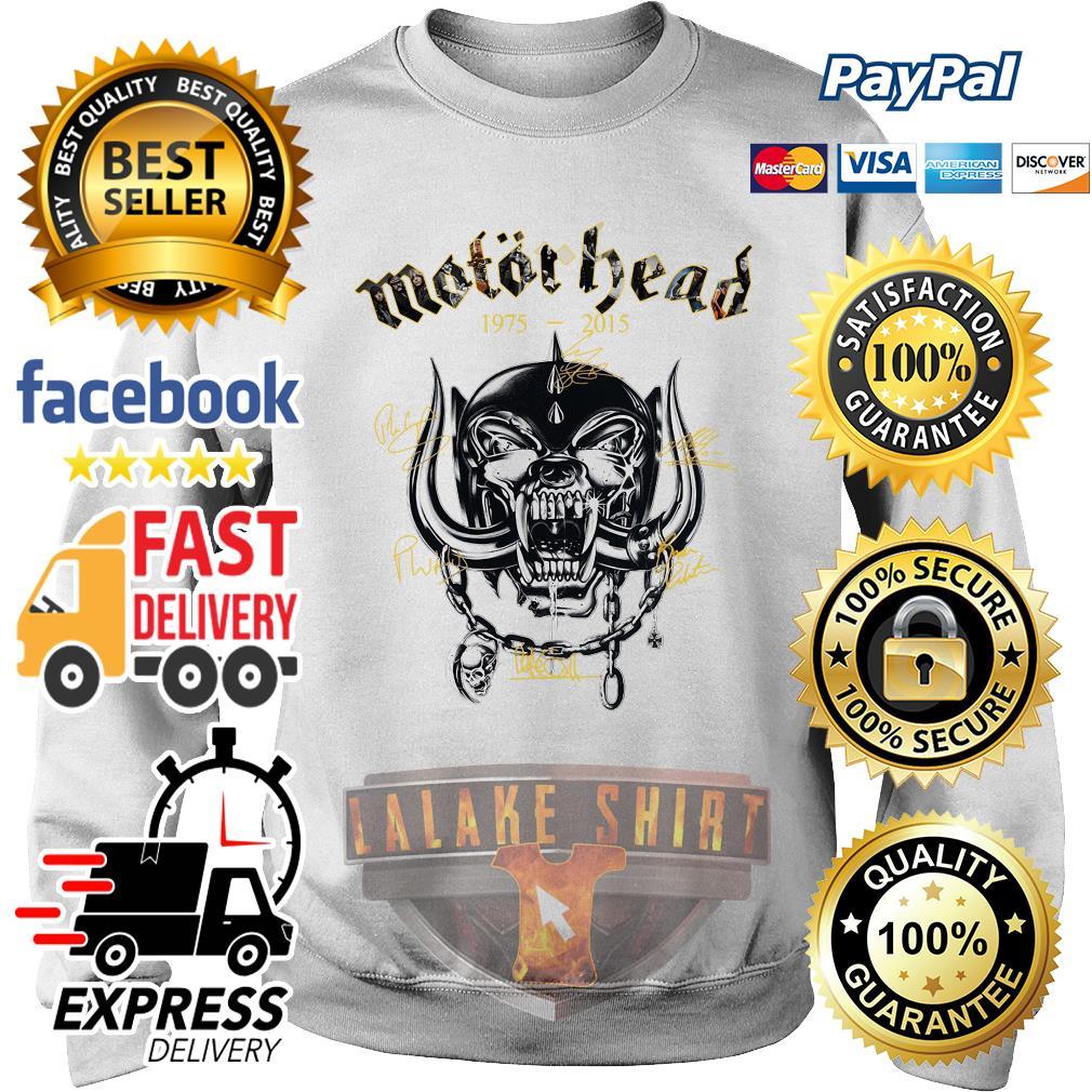 Motorhead 1975 2015 Signatures sweater