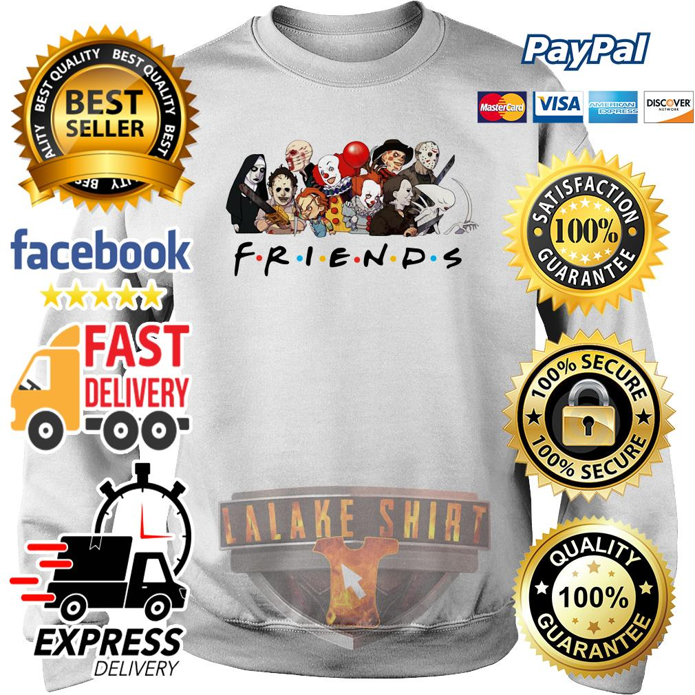 My favorite horror movie characters friends tv show sweater