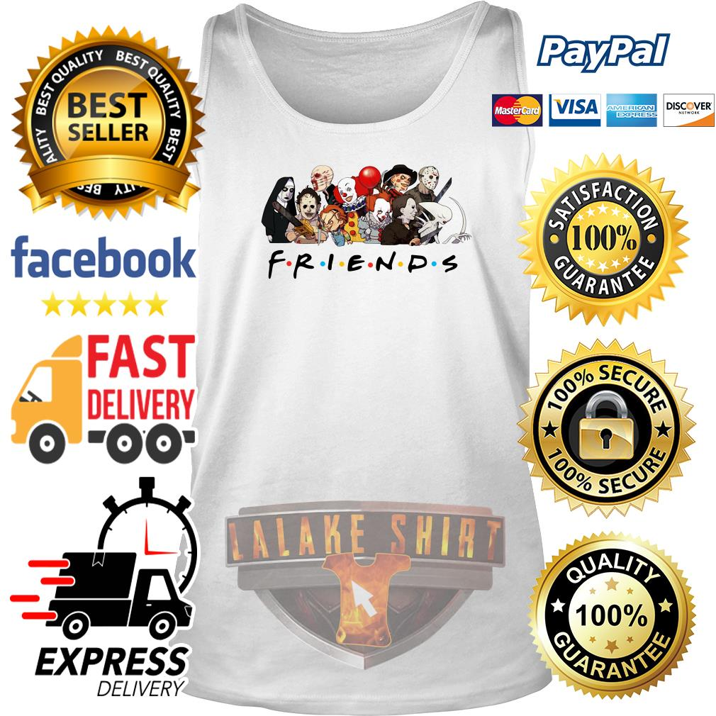 My favorite horror movie characters friends tv show tank top