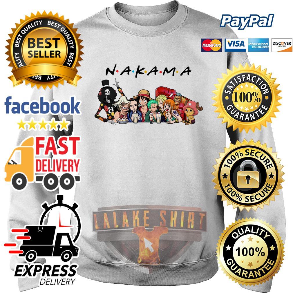 Nakama One Piece Friends tv show sweater