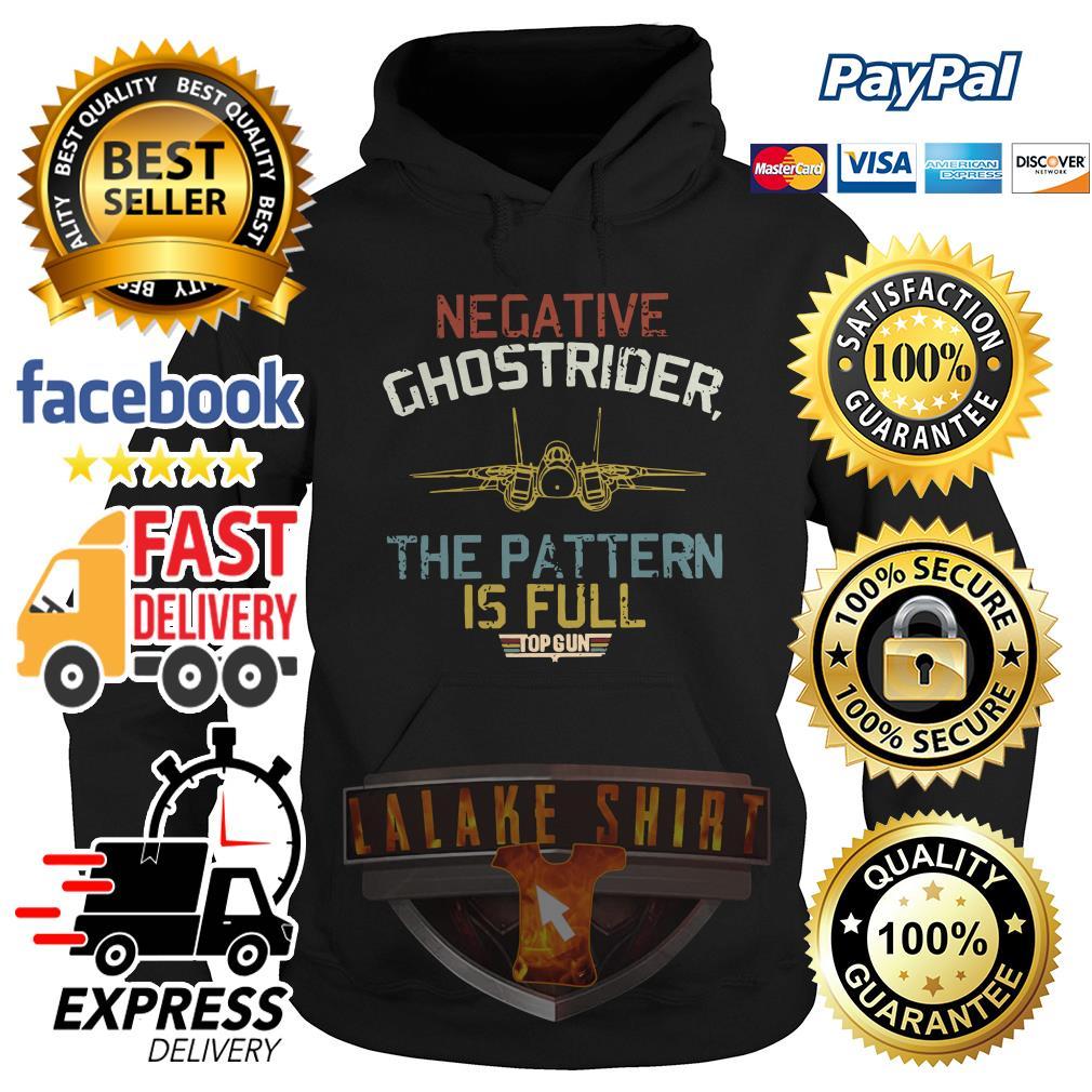 Negative ghostrider the pattern is full top gun hoodie