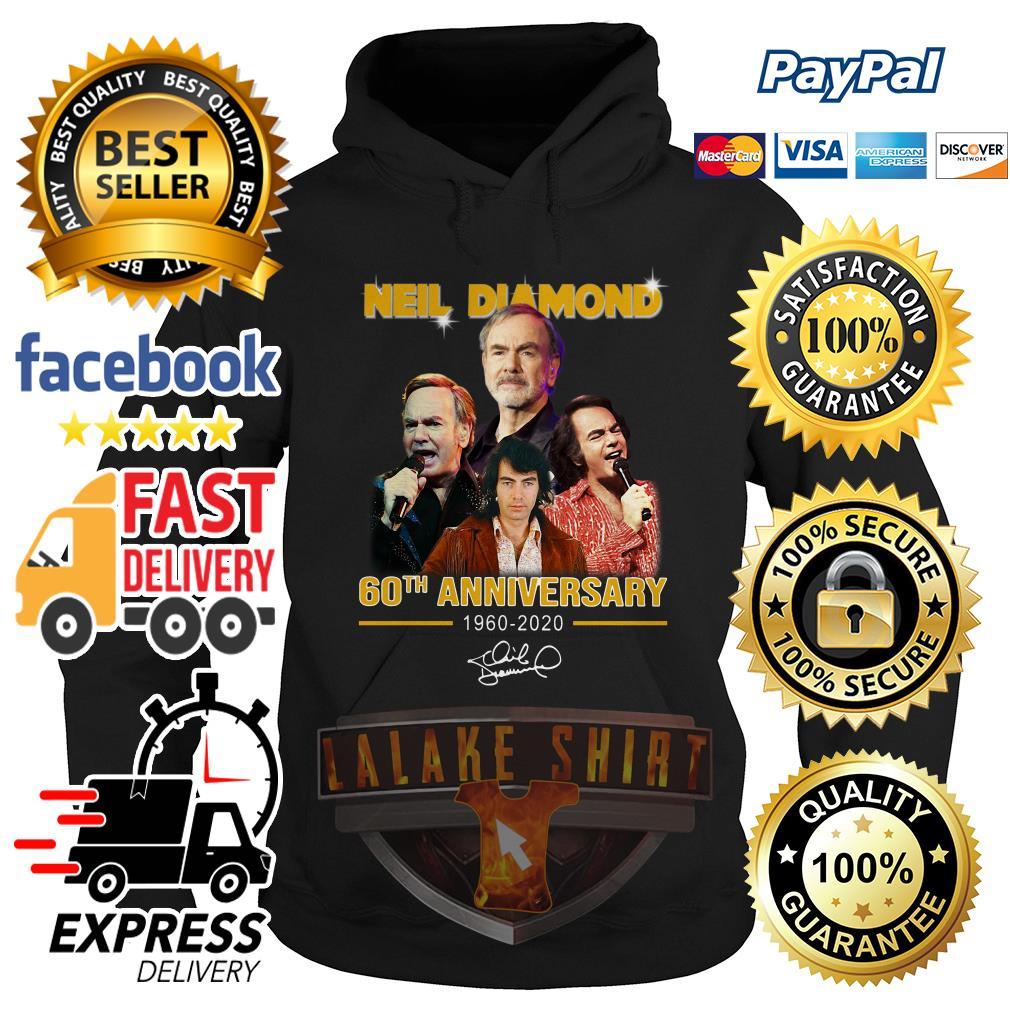 Neil Diamond 60th anniversary 1960 2020 signature hoodie