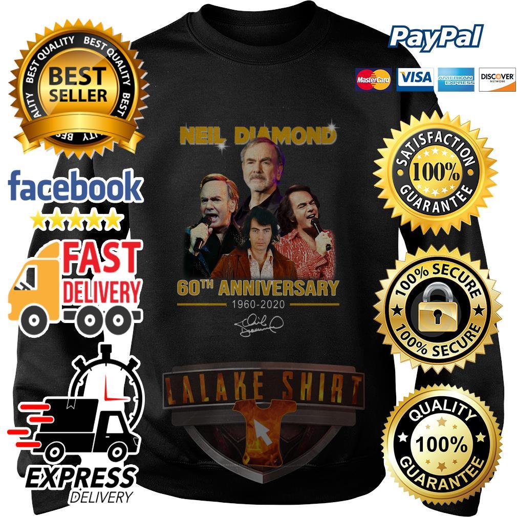 Neil Diamond 60th anniversary 1960 2020 signature sweater