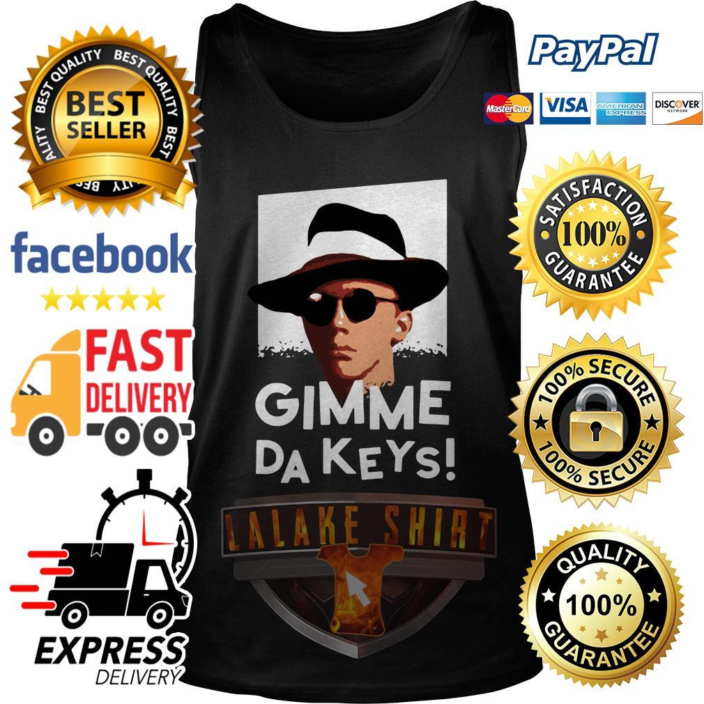 Official Gimme Da Keys tank top