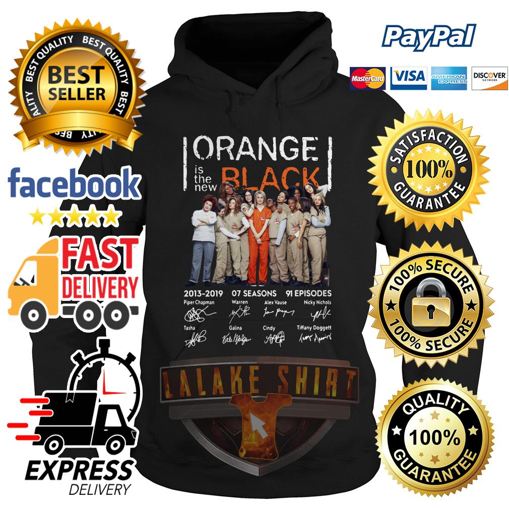 Orange is the new Black signature hoodie