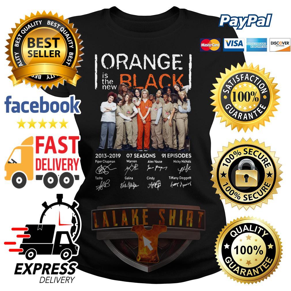 Orange is the new Black signature ladies tee