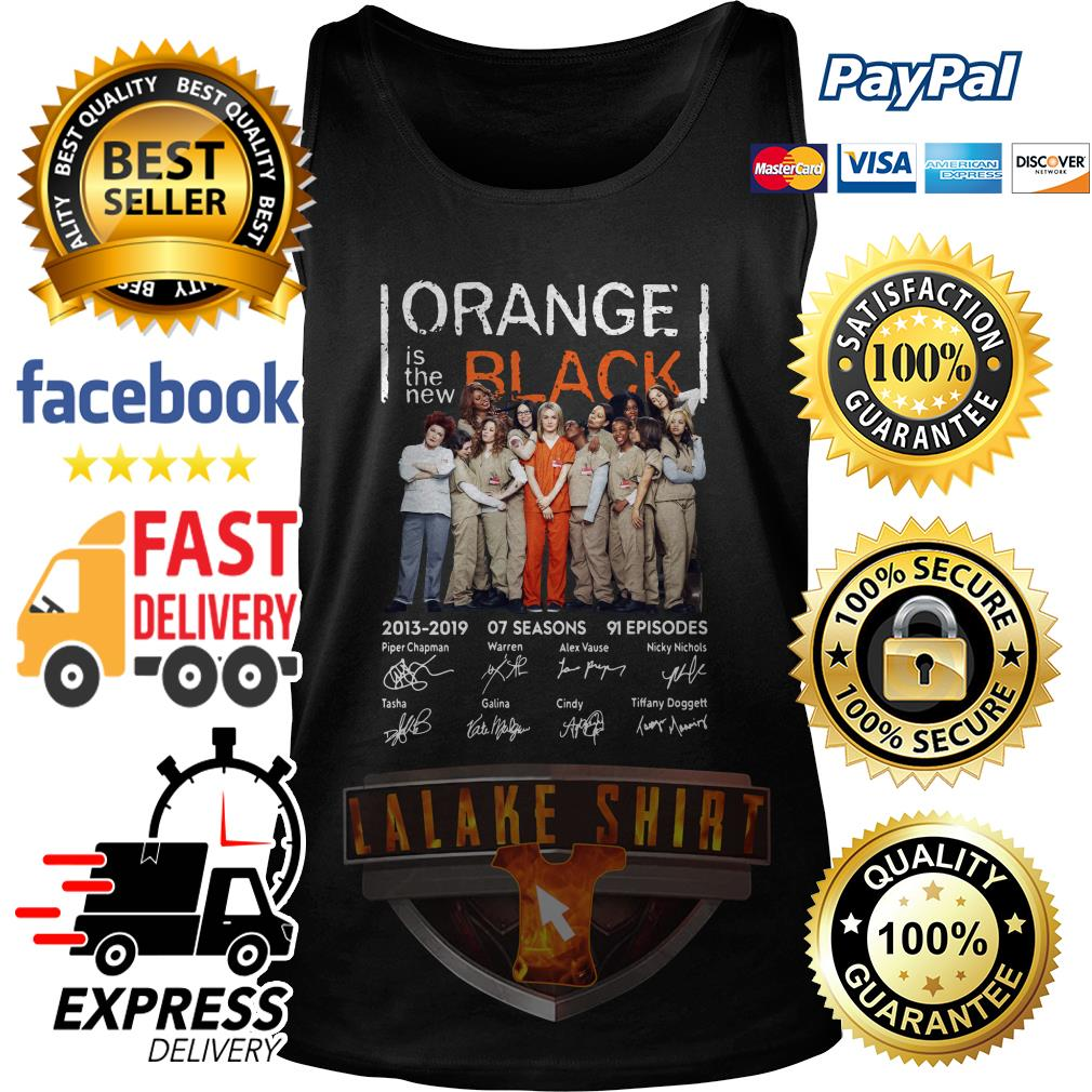 Orange is the new Black signature tank top