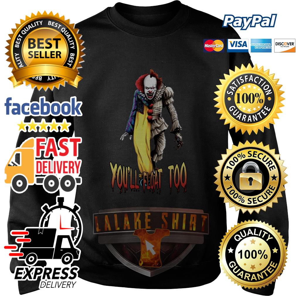 Pennywise you_ll float too sweater