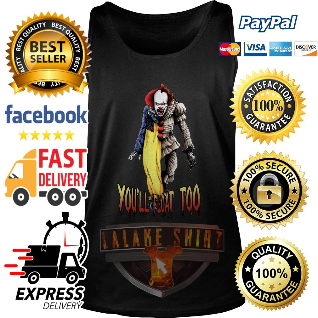 Pennywise you_ll float too tank top