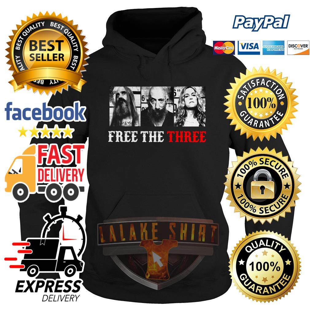 Rob Zombie free the three hoodie