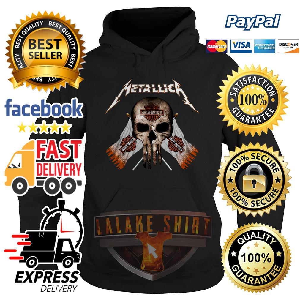 Skull Metallica Motor Harley Davidson cycles hoodie