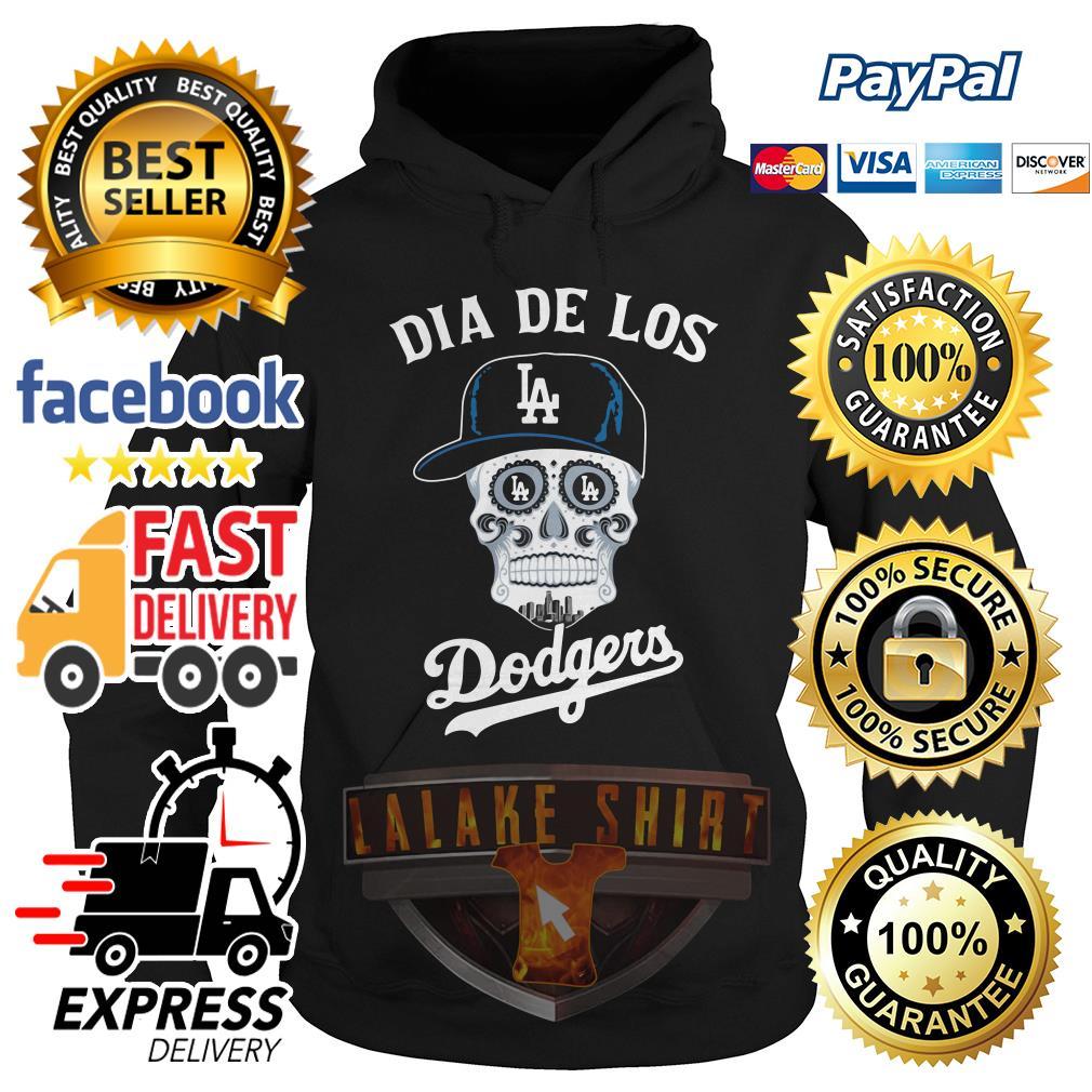 Skull dia de Los Angeles Dodgers hoodie