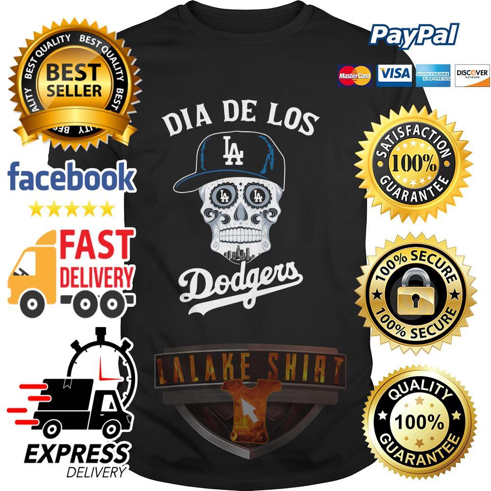 Skull dia de Los Angeles Dodgers shirt